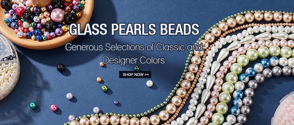 Glass Pearls Beads