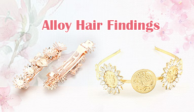 Alloy Hair Findings