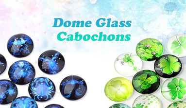 Dome Glass Cabochons