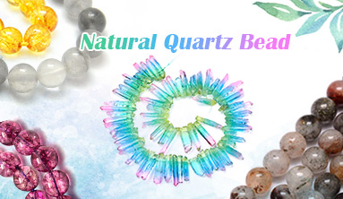 Natural Quartz Bead