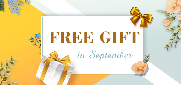 Free Gift In Sep